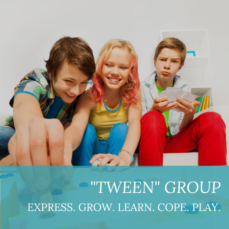 tween play therapy group